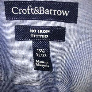 croft & barrow Tops - Men's dress shirt